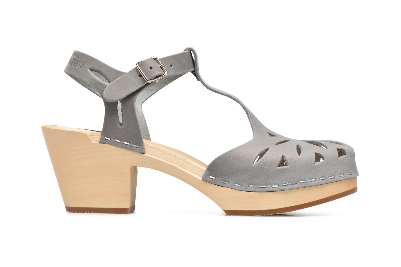 Sandales et nu-pieds Swedish Hasbeens Lacy Sandal Gris vue derrière