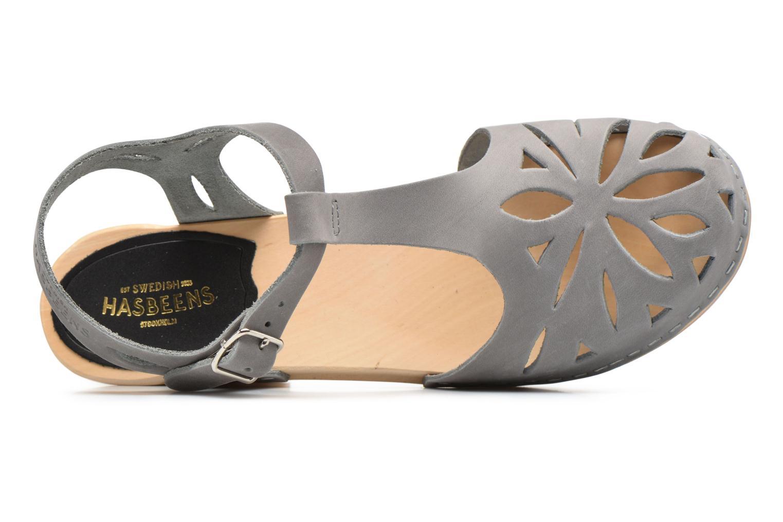 Sandales et nu-pieds Swedish Hasbeens Lacy Sandal Gris vue gauche