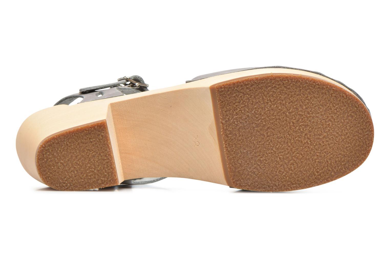 Sandales et nu-pieds Swedish Hasbeens Lacy Sandal Gris vue haut