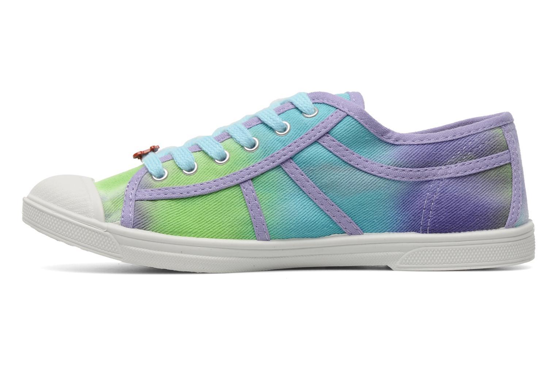 Sneaker Le temps des cerises Basic 02 Tie & Dye mehrfarbig ansicht von vorne