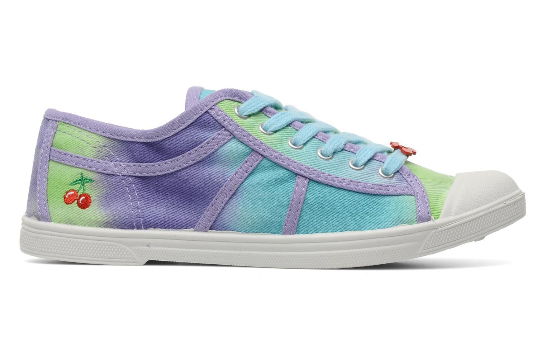 Sneakers Le temps des cerises Basic 02 Tie & Dye Multicolor achterkant