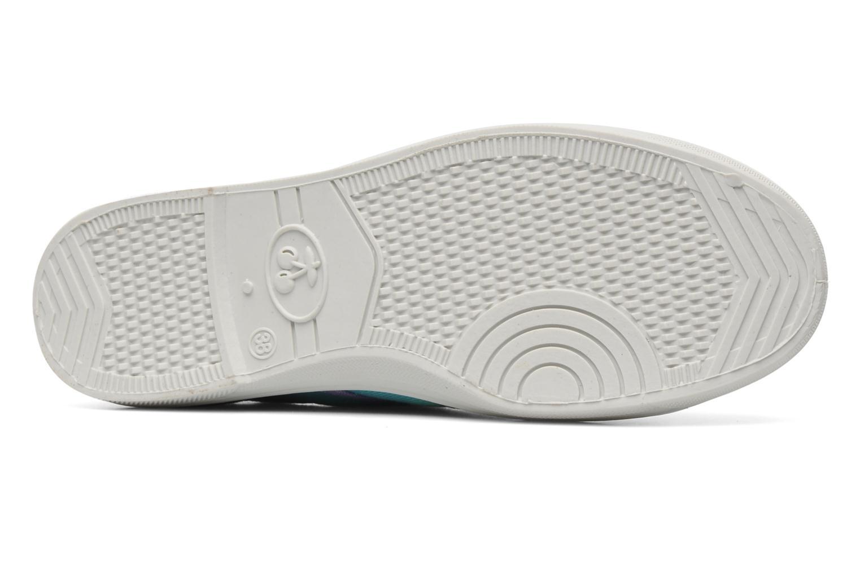 Sneakers Le temps des cerises Basic 02 Tie & Dye Multicolor boven