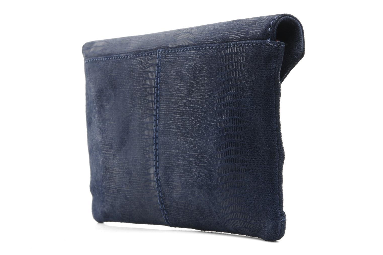 Handtaschen Loxwood Pochette Lana blau ansicht von rechts