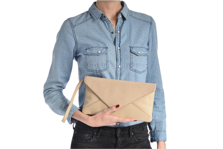 Bolsos de mano Loxwood Pochette Lana Azul vista de arriba