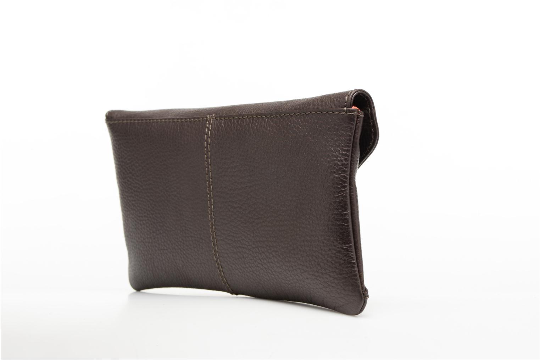 Handtaschen Loxwood Pochette Lana braun ansicht von rechts
