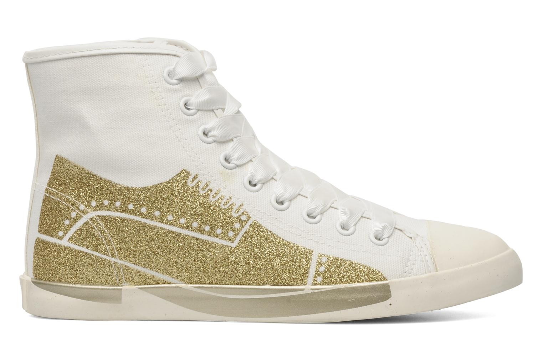 Sneakers Be&D Wingtip Wit achterkant