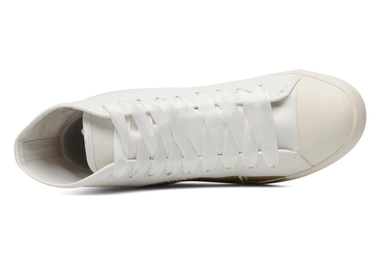 Sneakers Be&D Wingtip Wit links
