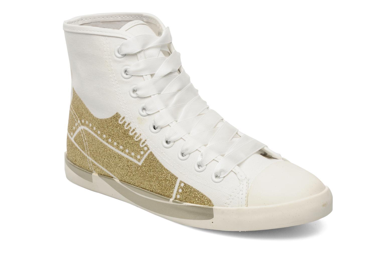 Sneakers Be&D Wingtip Wit detail