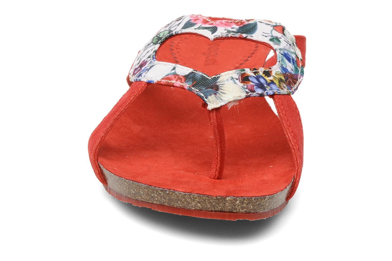 Mules et sabots Desigual jodie Rouge vue portées chaussures