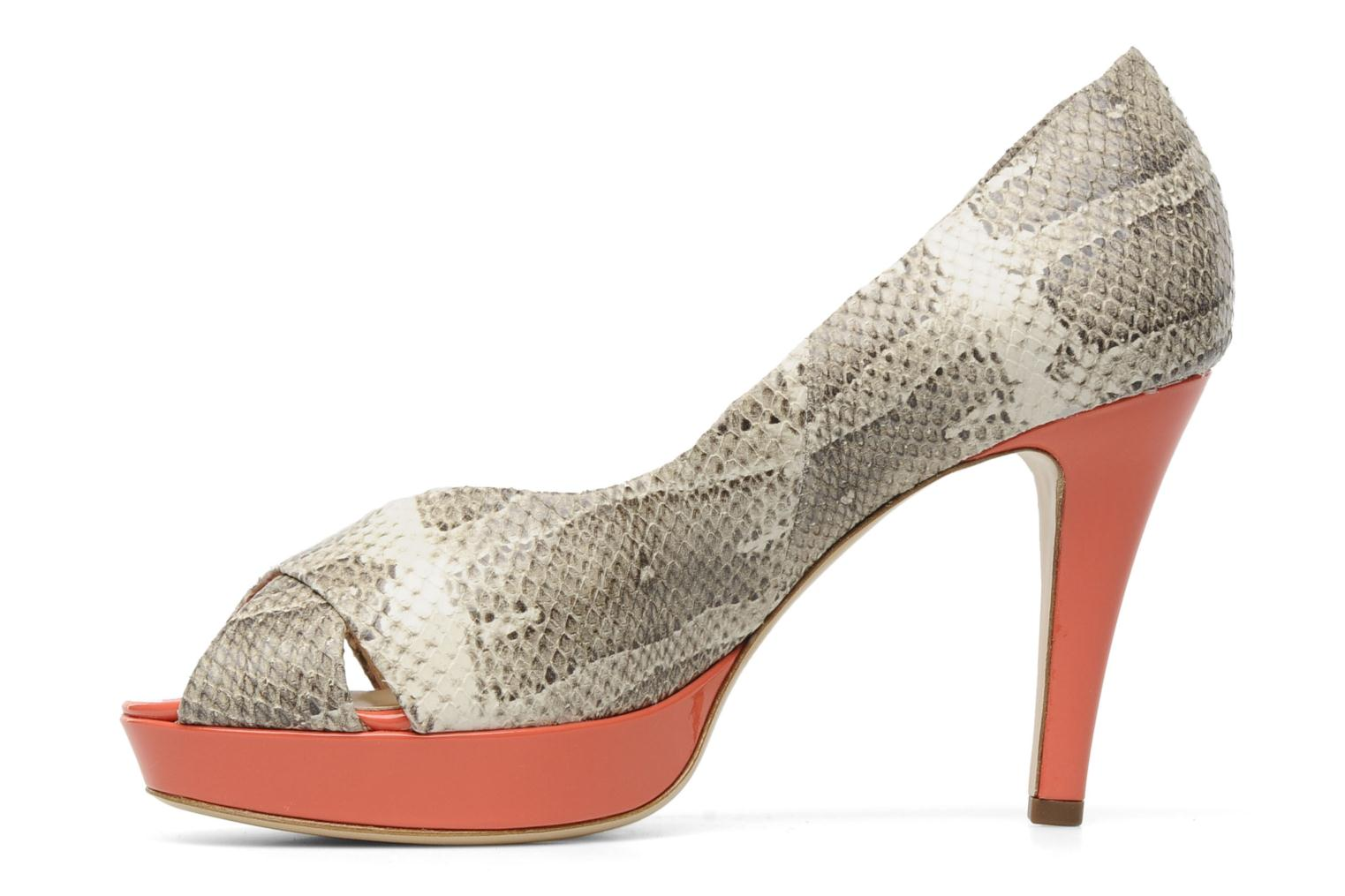 High heels HÖGL Yvanna Beige front view