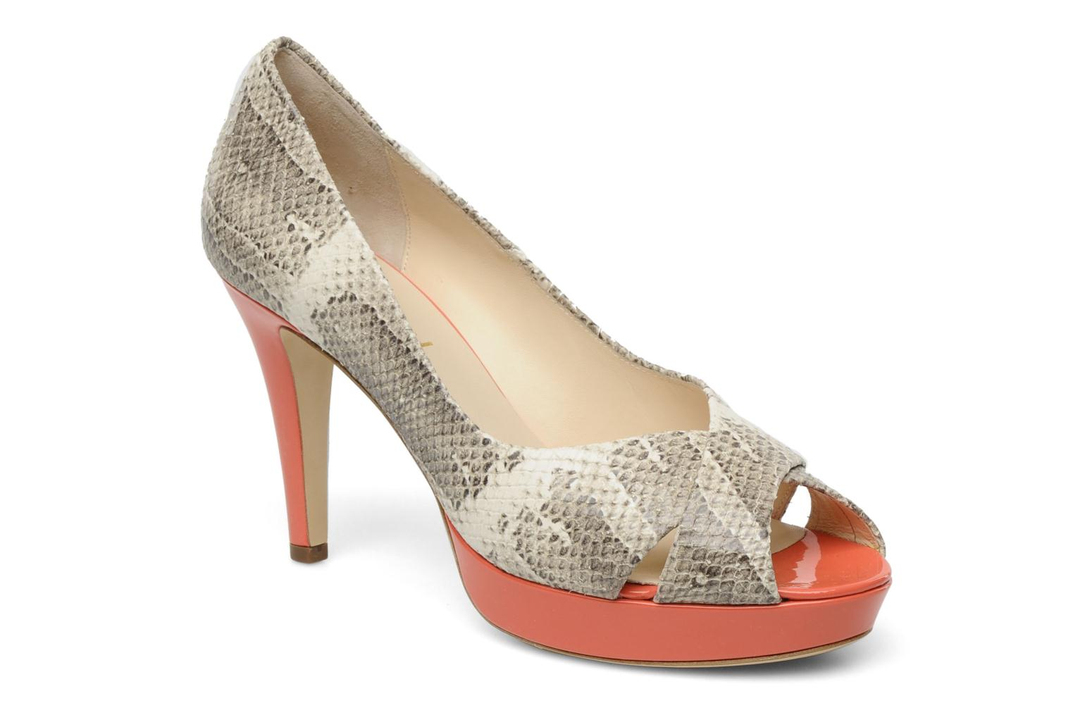 High heels HÖGL Yvanna Beige detailed view/ Pair view