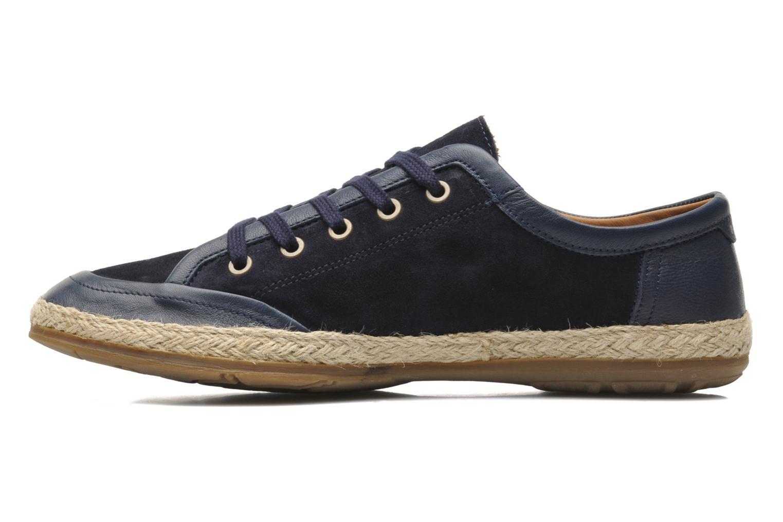 Sneaker Paul & Joe St Barth blau ansicht von vorne