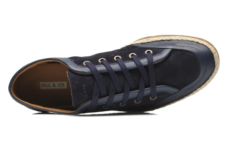 Sneaker Paul & Joe St Barth blau ansicht von links