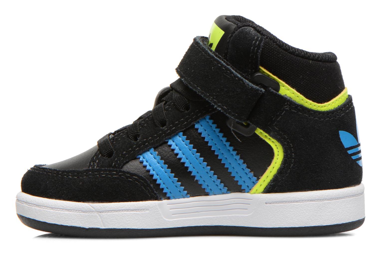 Sneaker Adidas Originals Varial Mid I schwarz ansicht von vorne