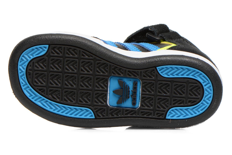Sneaker Adidas Originals Varial Mid I schwarz ansicht von oben
