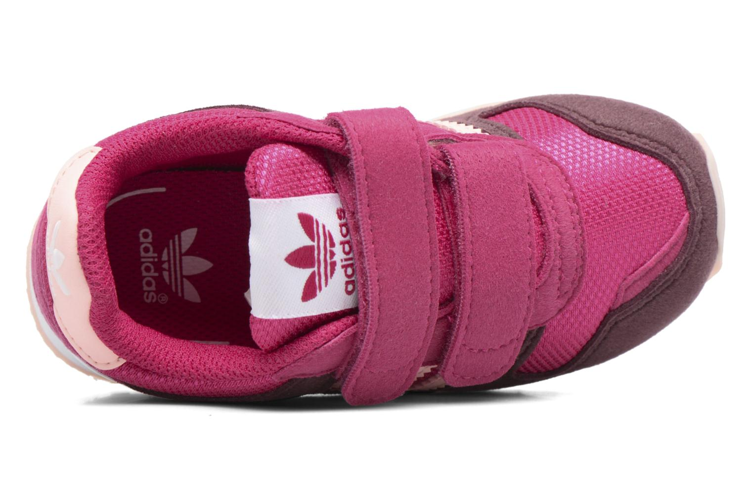 Trainers Adidas Originals Zx 700 Cf I Pink view from the left