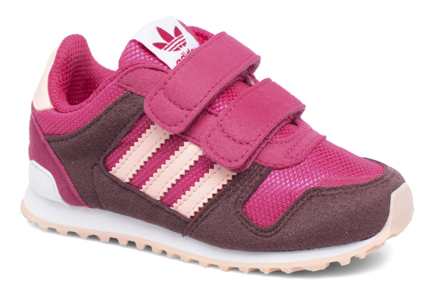 Trainers Adidas Originals Zx 700 Cf I Pink detailed view/ Pair view
