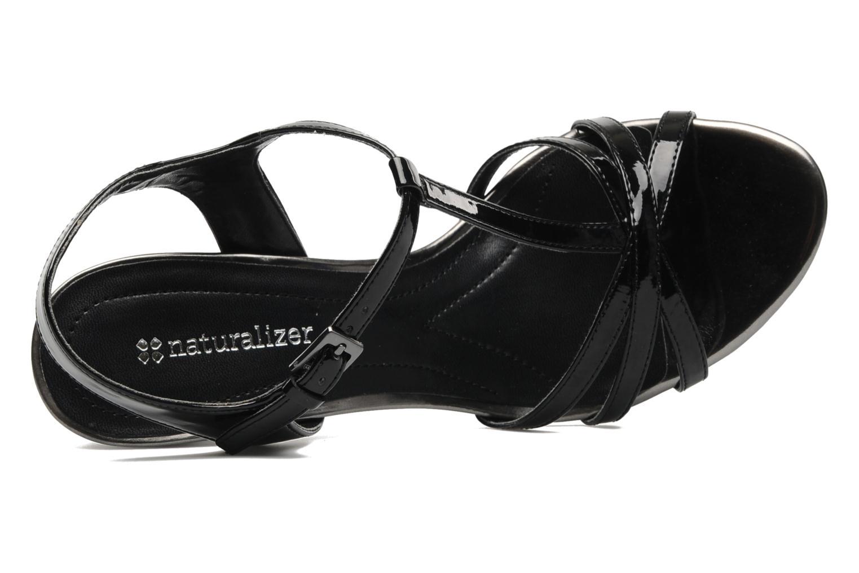 Sandalen Naturalizer EBBA Zwart links