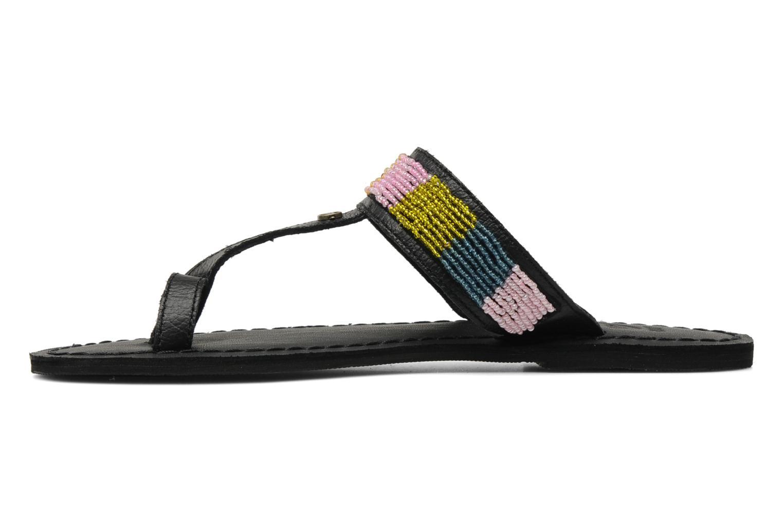 Clogs & Pantoletten Roxy Mumbai schwarz ansicht von vorne