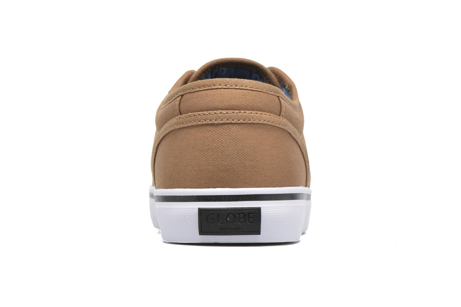 Sport shoes Globe Motley Brown view from the right