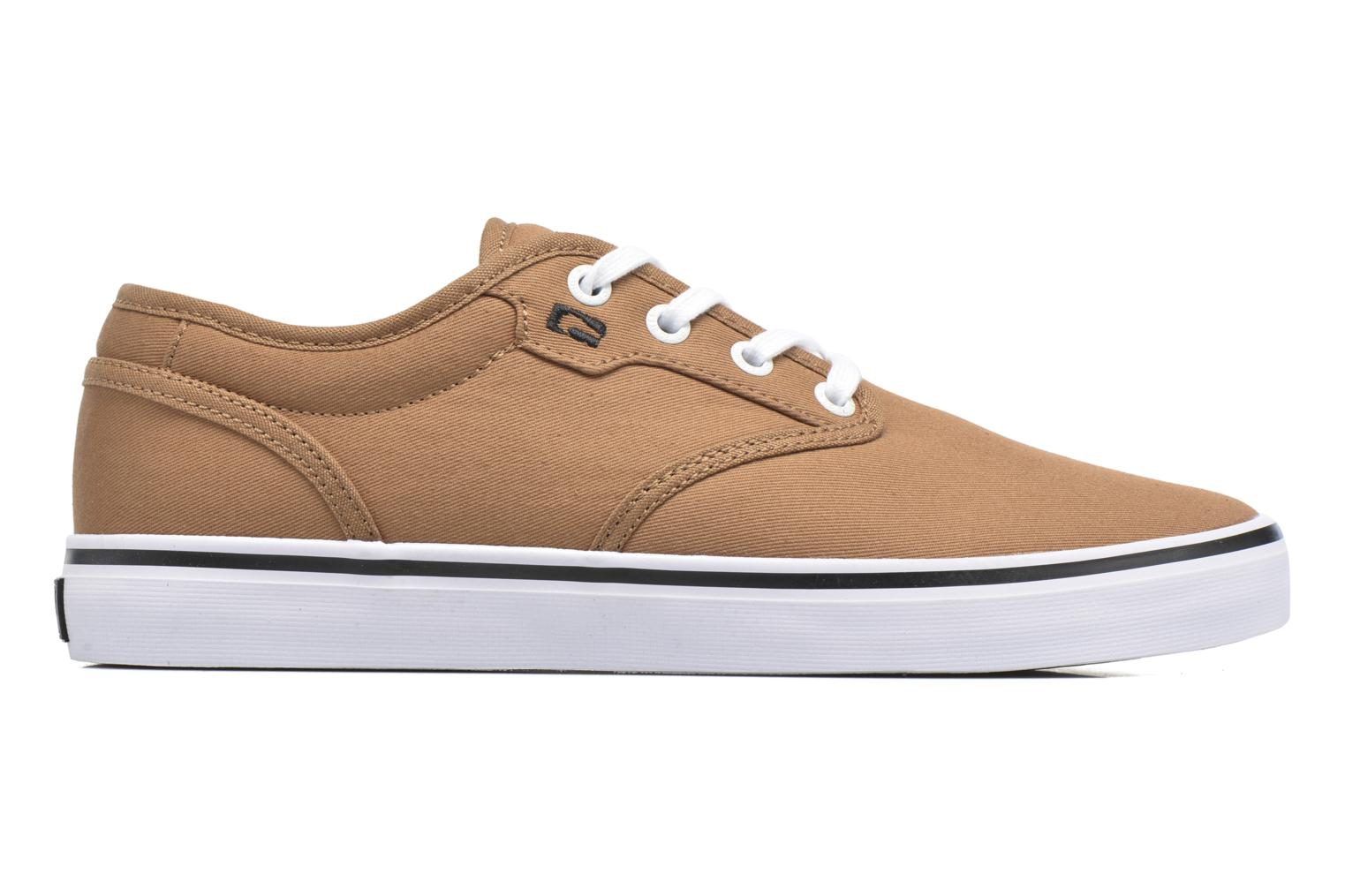 Sport shoes Globe Motley Brown back view