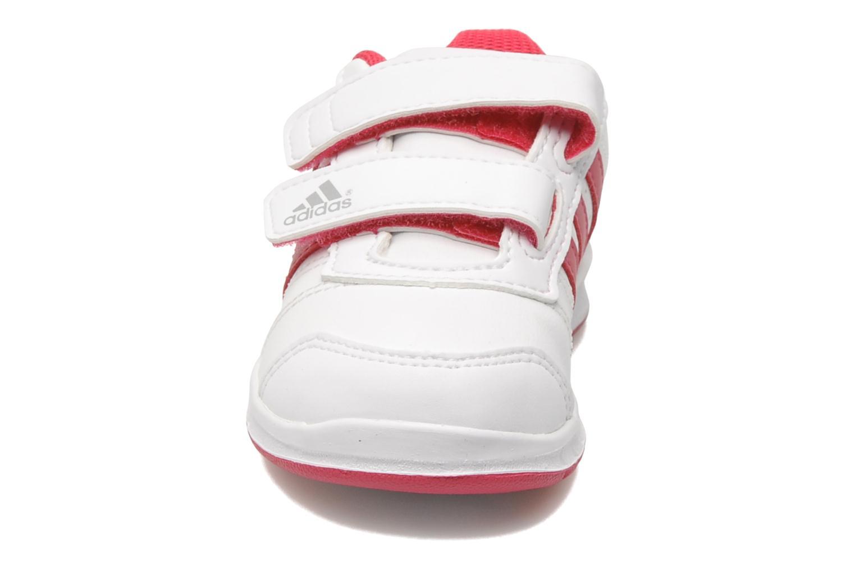 Baskets Adidas Performance LK Trainer 5 CF I Blanc vue portées chaussures
