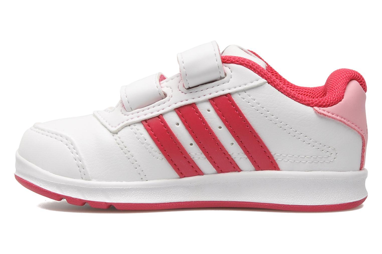 Sneakers Adidas Performance LK Trainer 5 CF I Wit voorkant