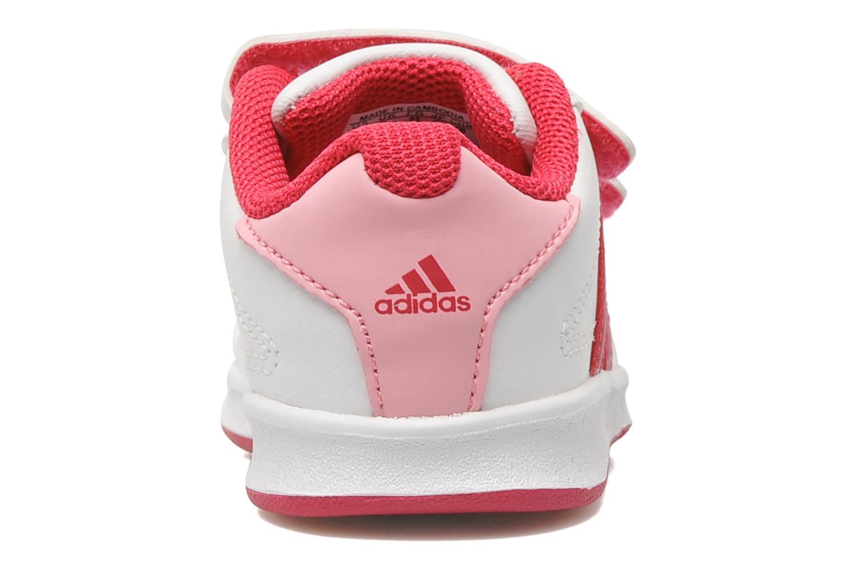 Baskets Adidas Performance LK Trainer 5 CF I Blanc vue droite