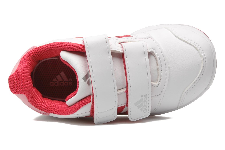 Baskets Adidas Performance LK Trainer 5 CF I Blanc vue gauche