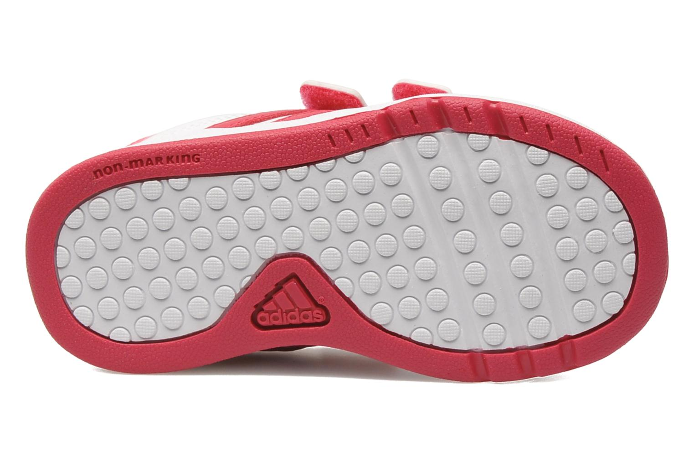 Baskets Adidas Performance LK Trainer 5 CF I Blanc vue haut