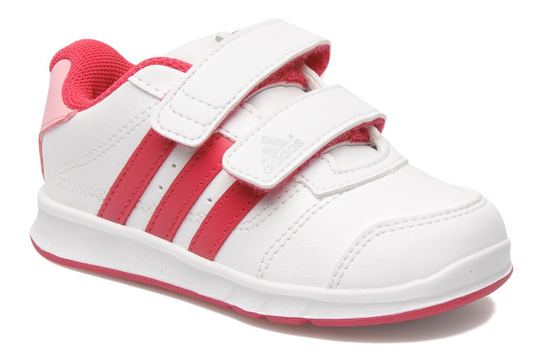 Baskets Adidas Performance LK Trainer 5 CF I Blanc vue détail/paire