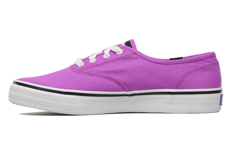 Double Dutch Neon Purple canvas