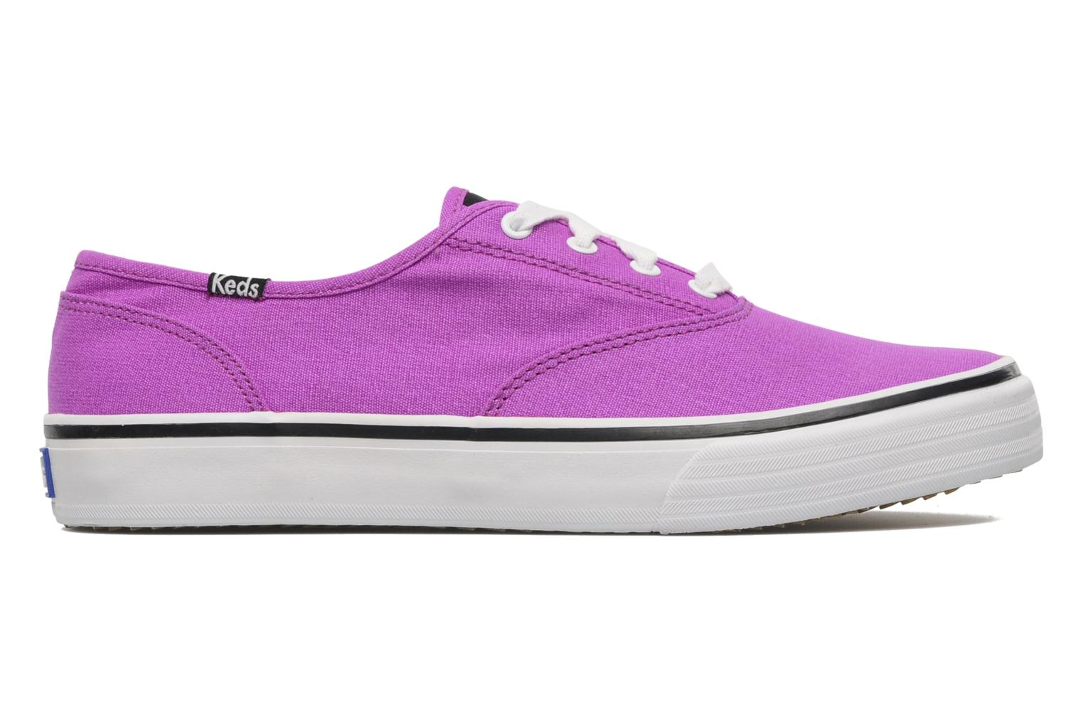 Sneakers Keds Double Dutch Neon Paars achterkant