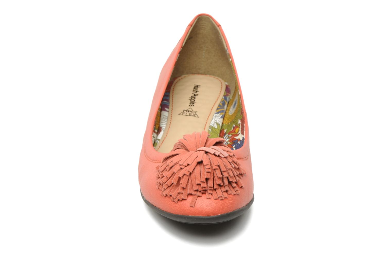 Ballet pumps Hush Puppies Swan skimmer pp Orange model view
