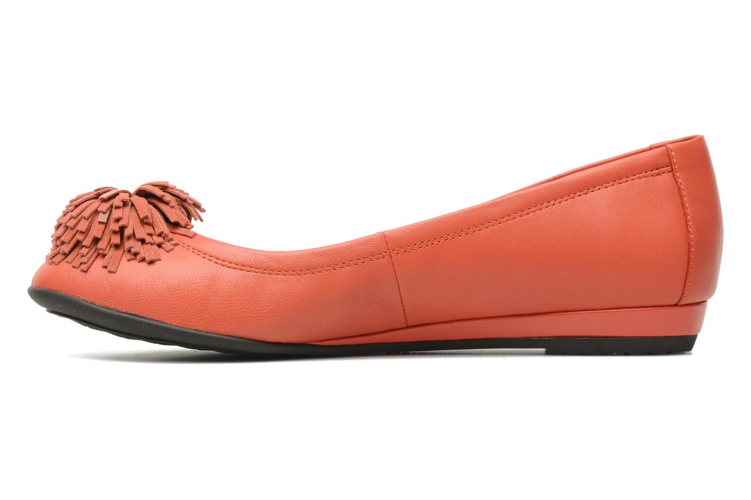 Ballet pumps Hush Puppies Swan skimmer pp Orange front view