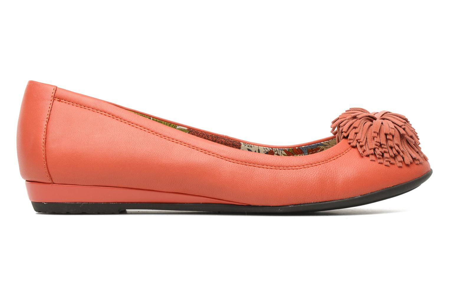 Ballet pumps Hush Puppies Swan skimmer pp Orange back view