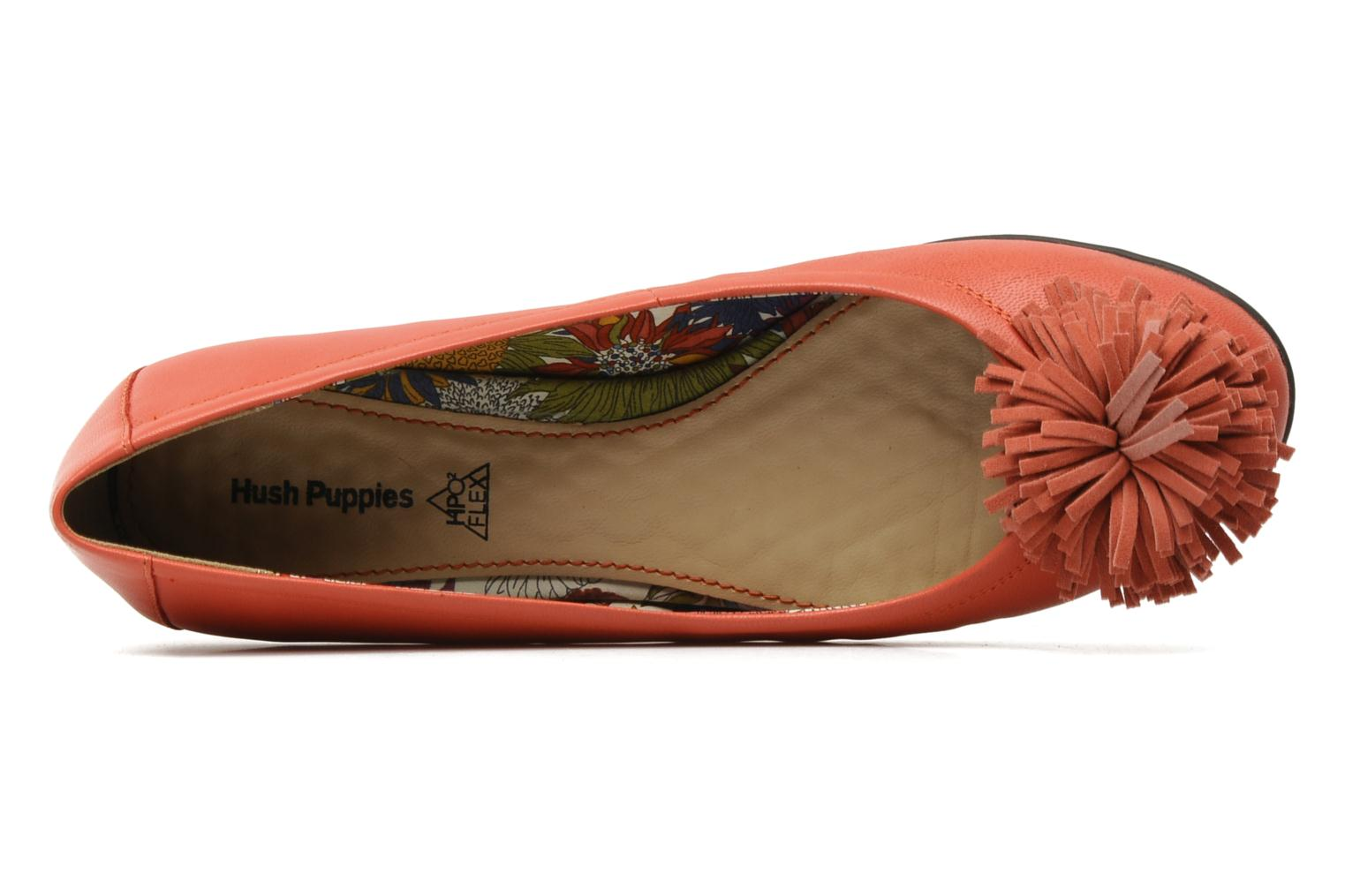 Ballet pumps Hush Puppies Swan skimmer pp Orange view from the left