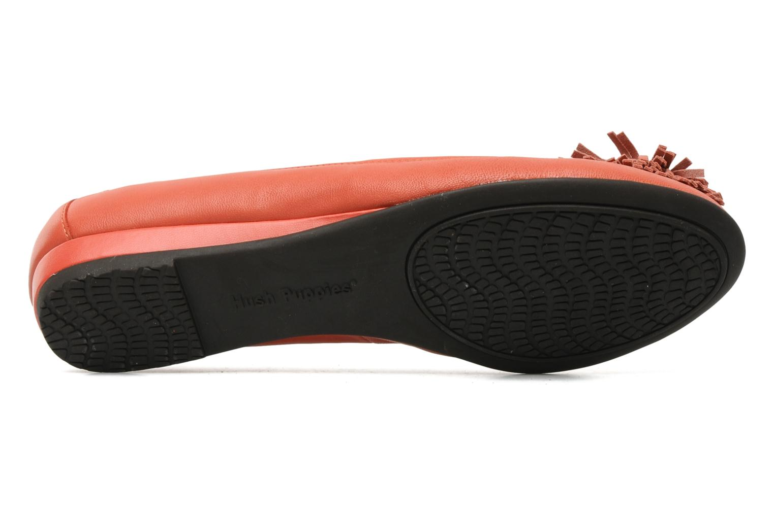 Ballet pumps Hush Puppies Swan skimmer pp Orange view from above