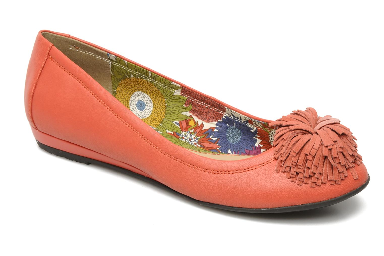 Ballet pumps Hush Puppies Swan skimmer pp Orange detailed view/ Pair view