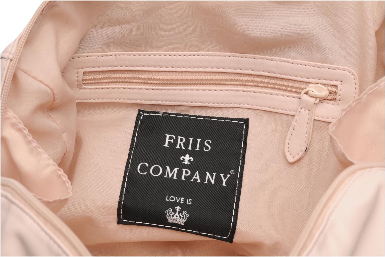 Handtassen Friis & company Fab Handbag Beige achterkant