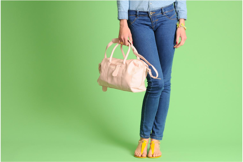 Sacs à main Friis & company Fab Handbag Beige vue haut