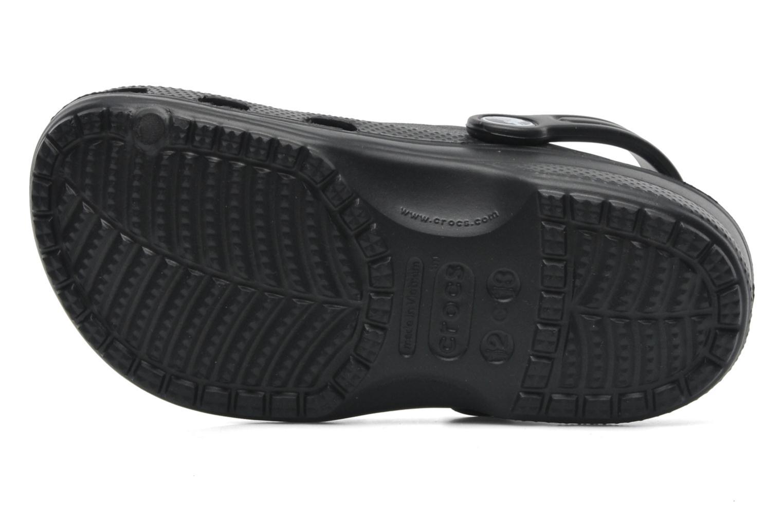 Sandales et nu-pieds Crocs Baya Kids Noir vue haut