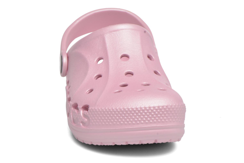 Sandales et nu-pieds Crocs Baya Kids Rose vue portées chaussures