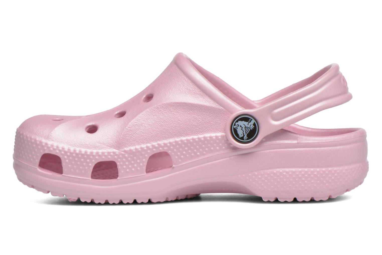 Sandales et nu-pieds Crocs Baya Kids Rose vue face