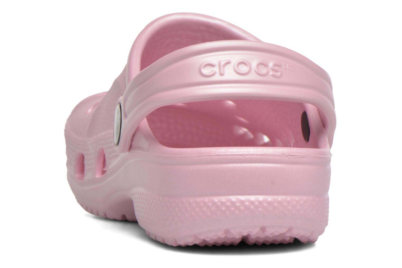 Sandales et nu-pieds Crocs Baya Kids Rose vue droite