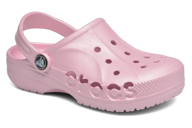 Sandales et nu-pieds Crocs Baya Kids Rose vue détail/paire