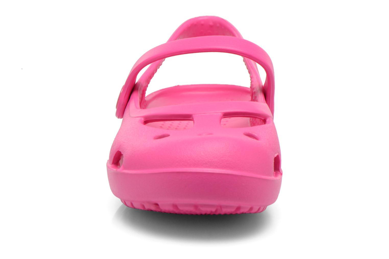 Sandales et nu-pieds Crocs Shayna Rose vue portées chaussures