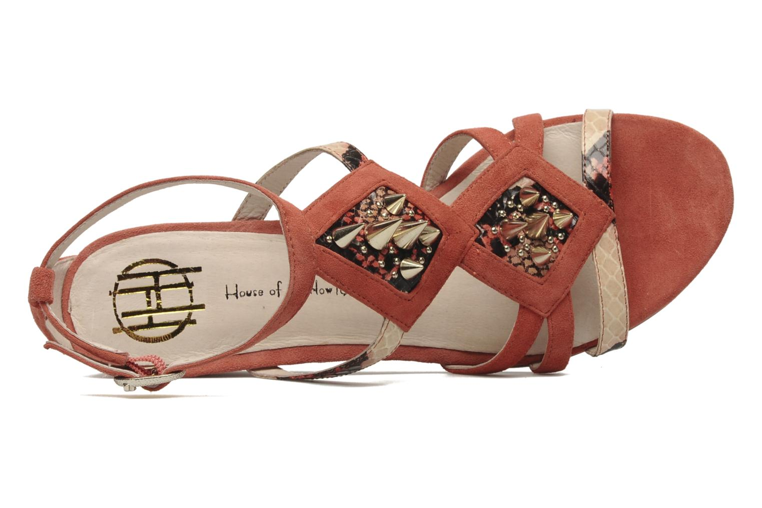 Sandalen House of Harlow 1960 CELINEY Oranje links