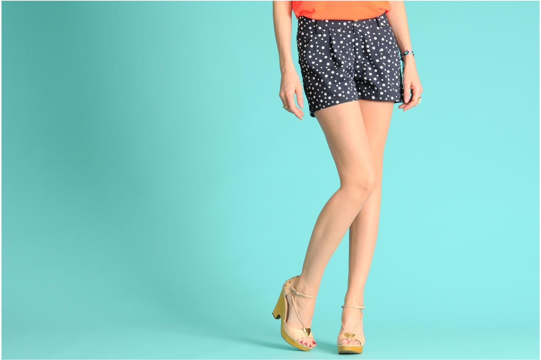 Sandales et nu-pieds Love Moschino Love Cipria Rose vue bas / vue portée sac