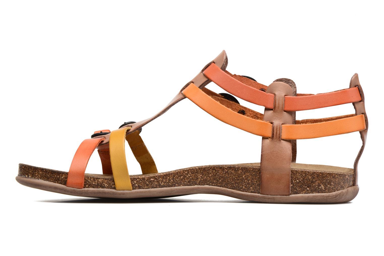Ana Marron Multico/Orange